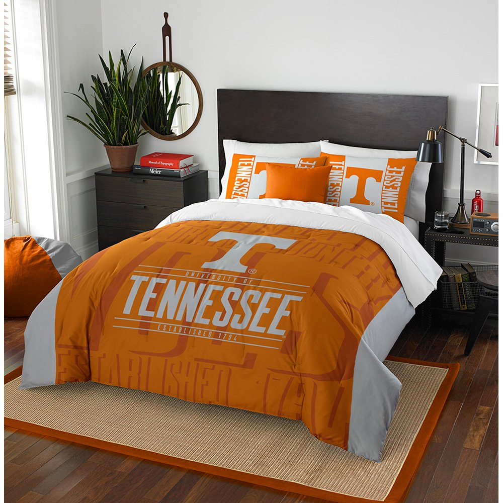 The Northwest Company NCAA Unisex-Adult Modern Take Full//Queen Comforter and 2 Sham Set