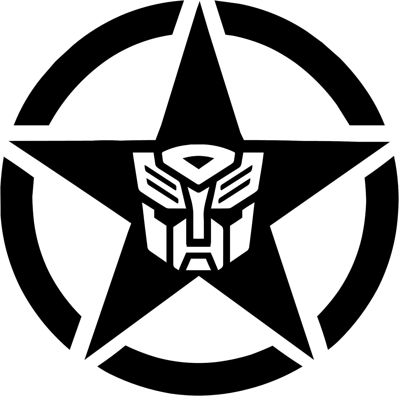 Transformers vinyl sticker