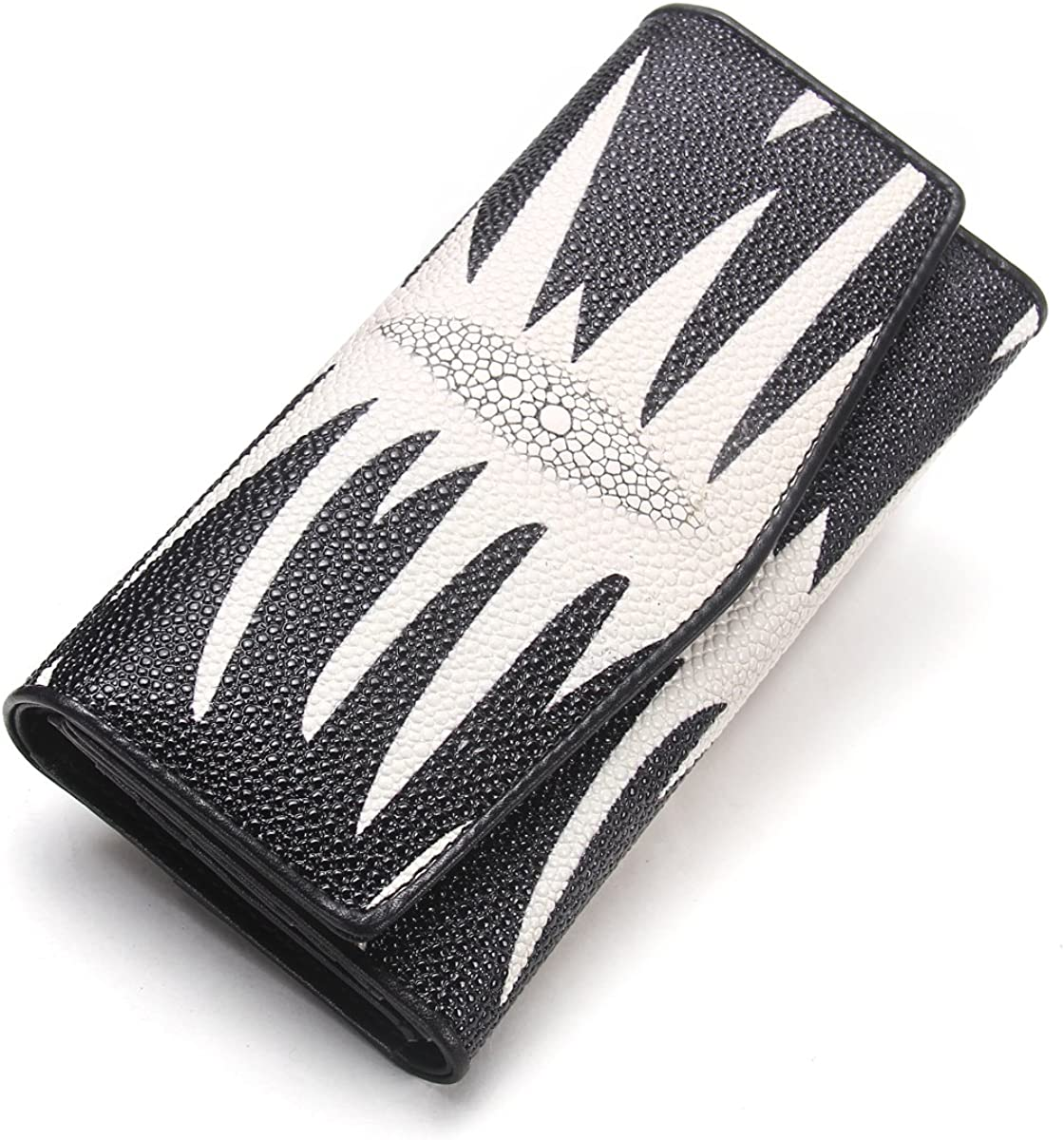 Contacts Women Leather Card Coin Holder Clutch Purse Long Wallet