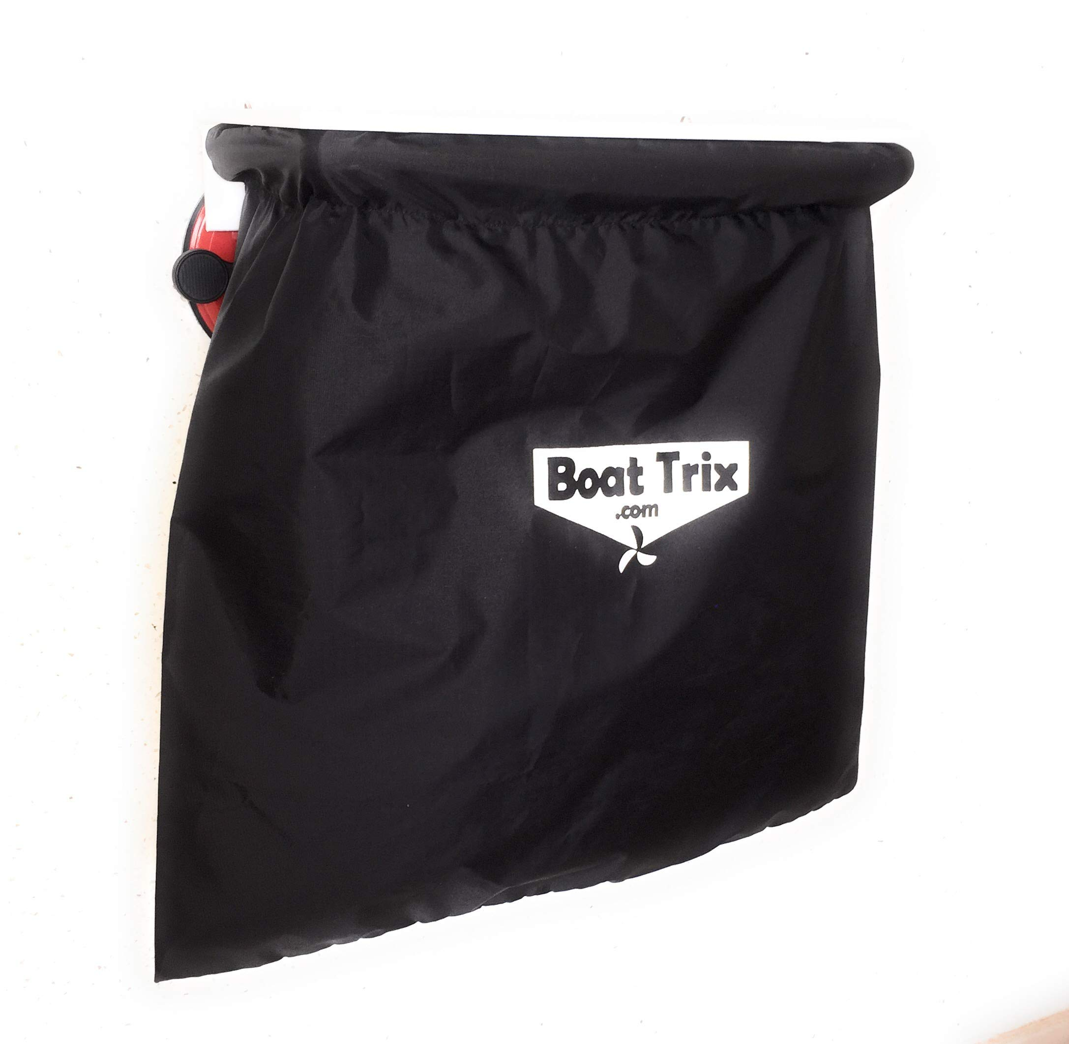 Boat Trix Marine Trash Bag with Mega Suction Cup Mount