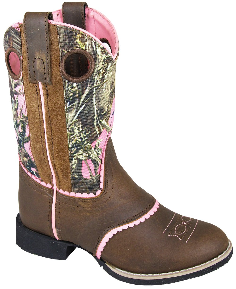 Smoky Mountain Childrens Girls Ruby Belle Brown/Pink Camo, 11M