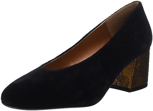 30832, Zapatos de Tacón con Punta Cerrada para Mujer, Negro (Black), 37 EU Gioseppo