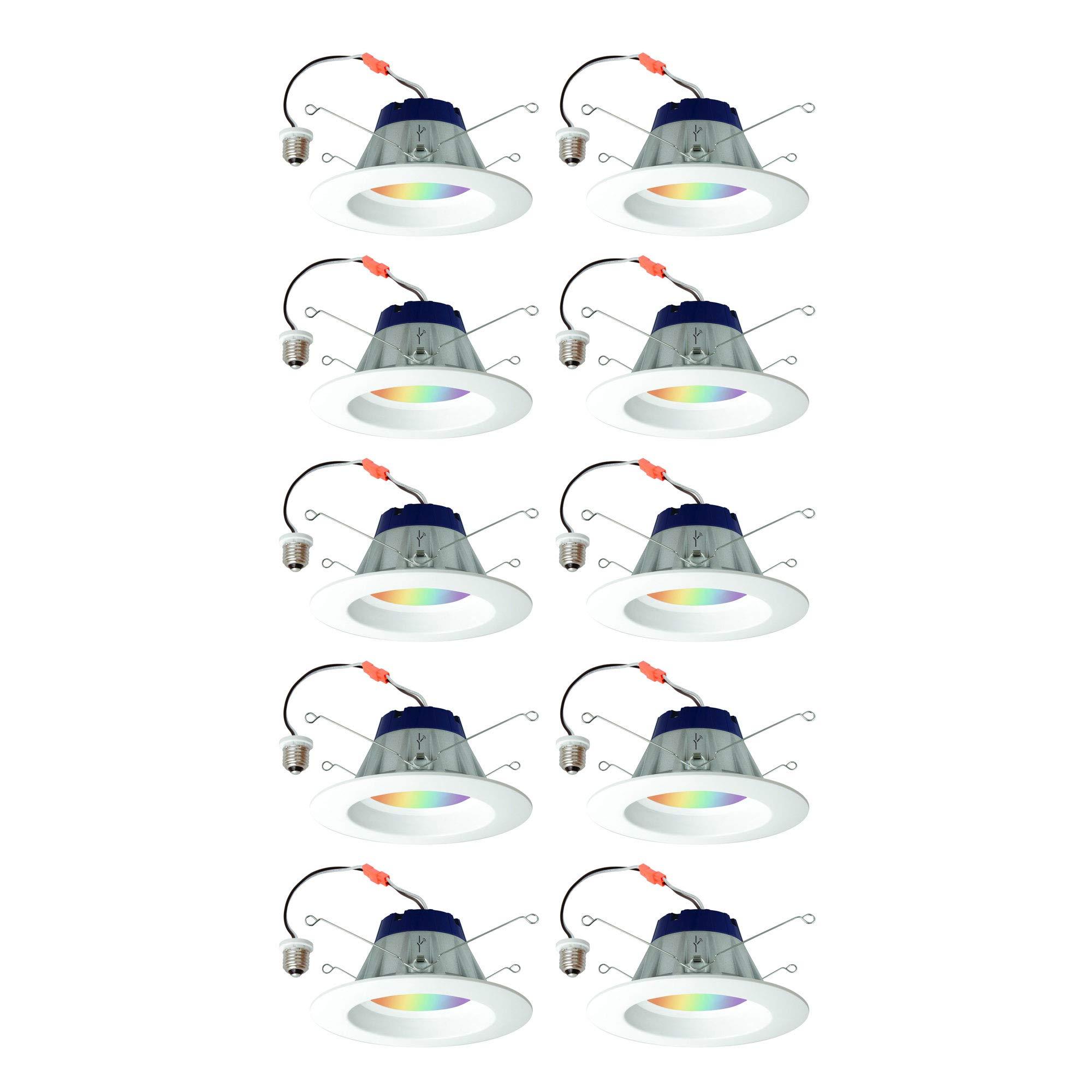 Sylvania Lightify 65W LED Smart Home 2700-6500K Color/White Light Bulb (2 Pack) (5 Pack)
