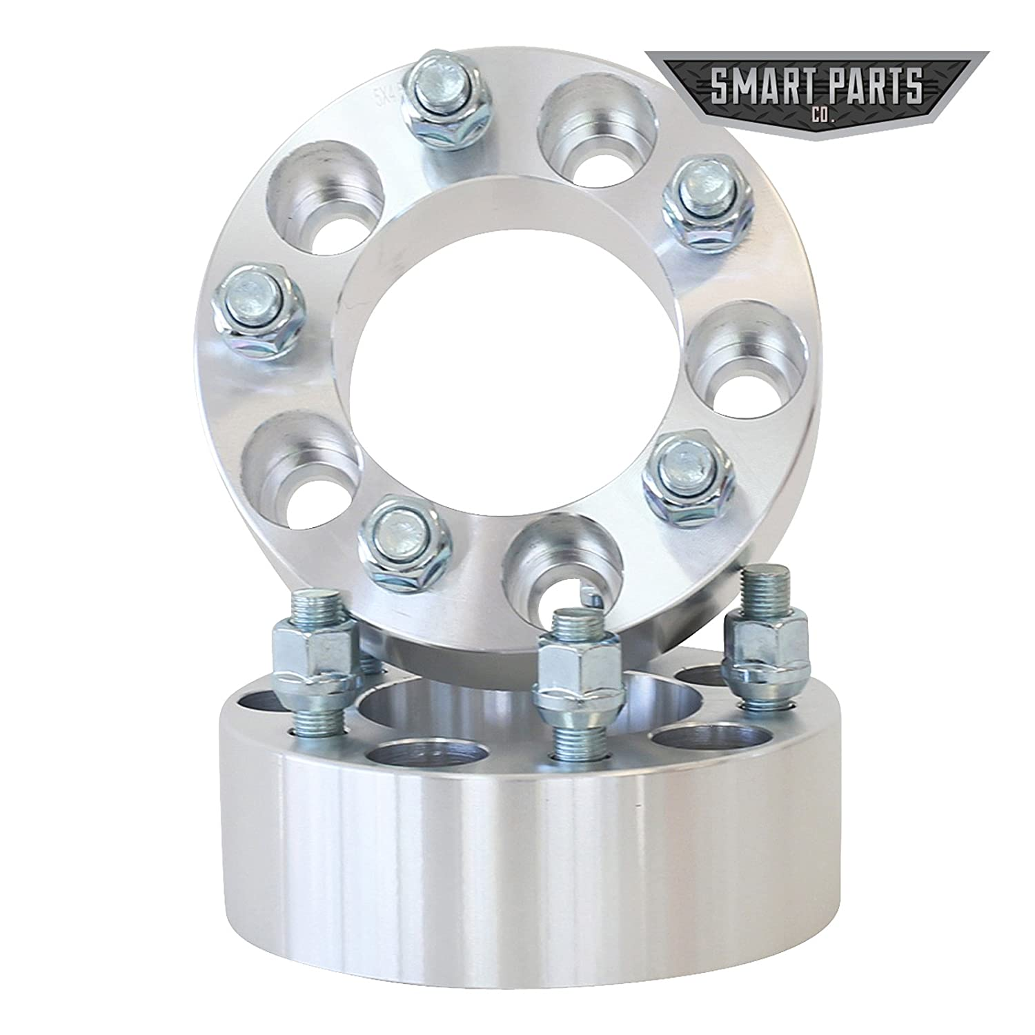 ATV Engineering 4 Qty Wheel Spacers Adapters 4 fits All 5x4.5 5x114.3 RH Threads 2 inch per Side Vehicle to 5x4.5 Wheel Bolt Patterns with 1//2
