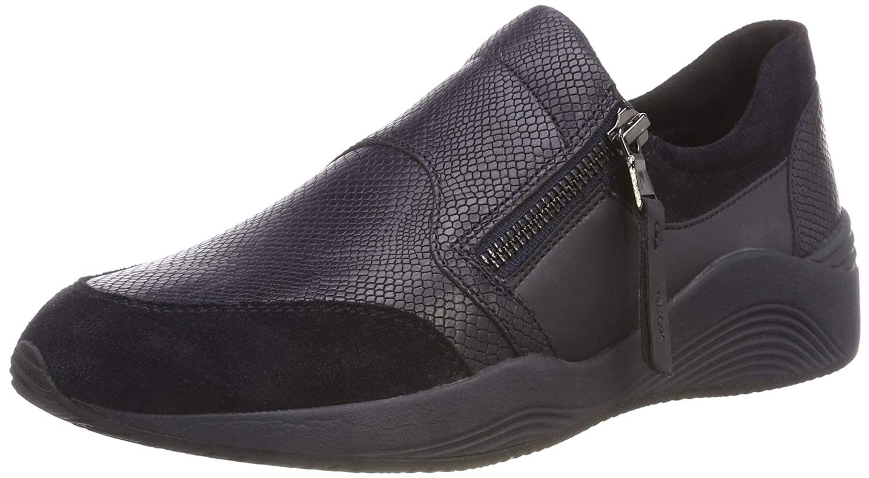 Geox D Omaya a, Zapatillas para Mujer 36 EU|(Navy C4002)