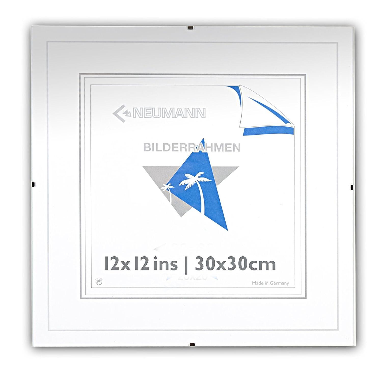 Bilderhalter rahmenlos, N 30 x 30 Clip-Rahmen, Bildträger mit ...