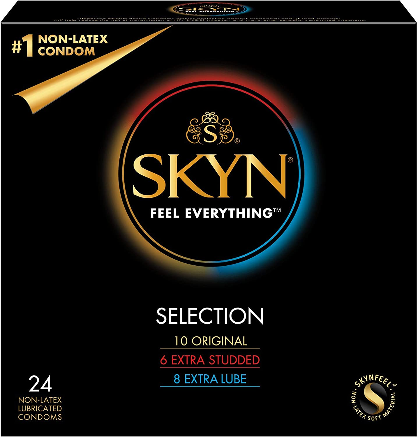 B00JKDH7WM Lifestyles SKYN Selection Condoms 714gq8p6J9L