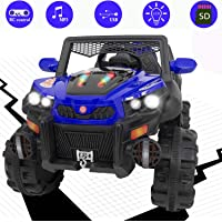 Baybee Warlock Baby Toy Car Rechargeable Battery Operated Ride on car for Kids/Baby with R/C Jeep Children Car Electric Motor Car Kids Cars,Baby Racing Car for Boys & Girls Age 2 to 6 Years