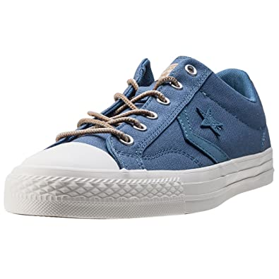 Converse Star Player Ox Mens Trainers Blue - 7 UK