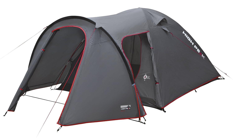 High Peak Iglu Zelt Kira 3/4/5 Personen Camping Kuppelzelt Trekkingzelt Diverse Größen 3000 mm WS