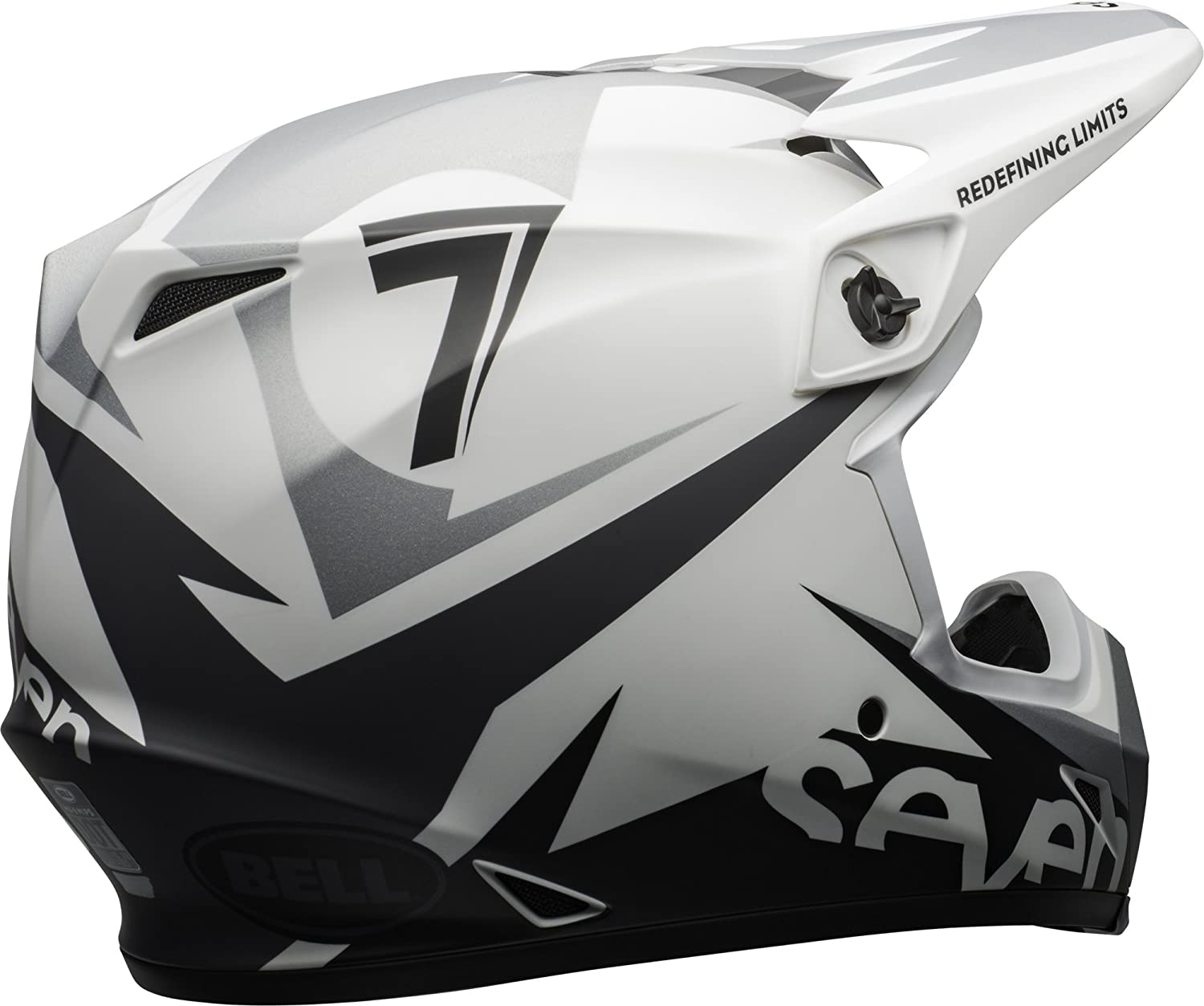 Seven Ignite Matte White, XX-Large Bell MX-9 MIPS Off-Road Motorcycle Helmet