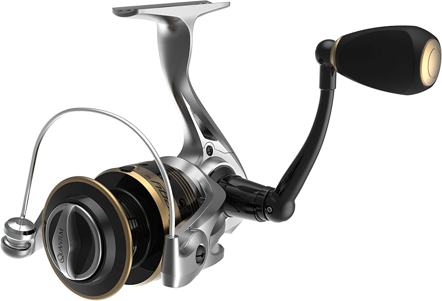 Quantum Strategy Spinning Fishing Reel, 6 Ball Bearings (5 + Clutch) with a Smooth and Powerful 5.2:1 Gear Ratio, Continuous Anti-Reverse Clutch with a Front-Adjustable Drag, 20-Size
