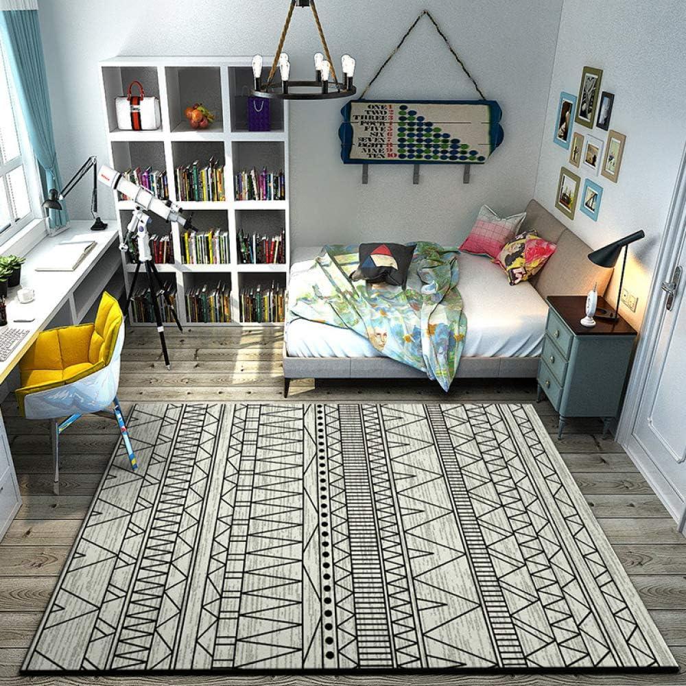 Amazon Co Jp Hqjhsm 3d Printed Non Slip Carpet Floor Mats For Living Room Bedroom Office Grey Carpet Doormat Sofa Coffee Table Mat 50x80cm Home Kitchen