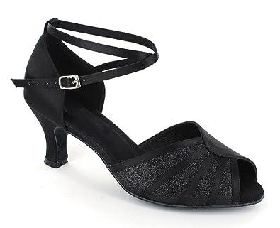ultima moda stile alla moda prestazione affidabile Minitoo, 601801, scarpe da ballo da donna con tacco basso, per salsa,  tango, liscio e balli latini