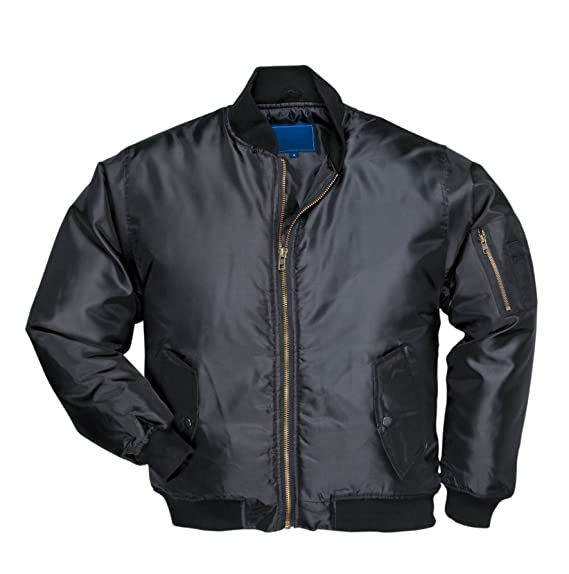 Workwear World W355 Vintage Piloto vuelo Flying Retro Militar ejército bombardero chaqueta abrigo: Amazon.es: Ropa y accesorios