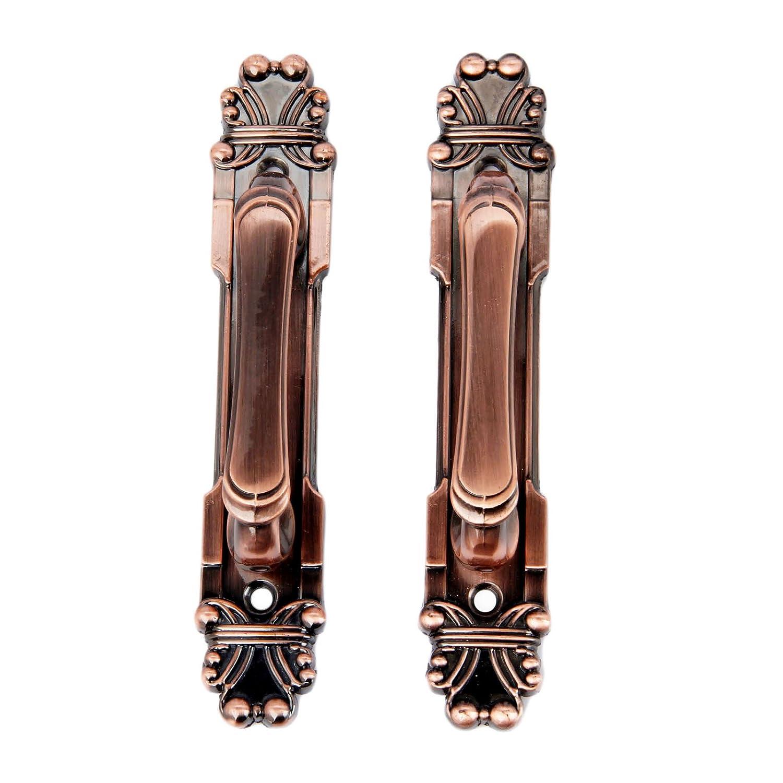 2Pcs 165mm European Style Vintage Brass Metal Knobs Handles For Home Cabinet Door Drawer Wardrobe Cupboard Antique Bronze MGoodoo