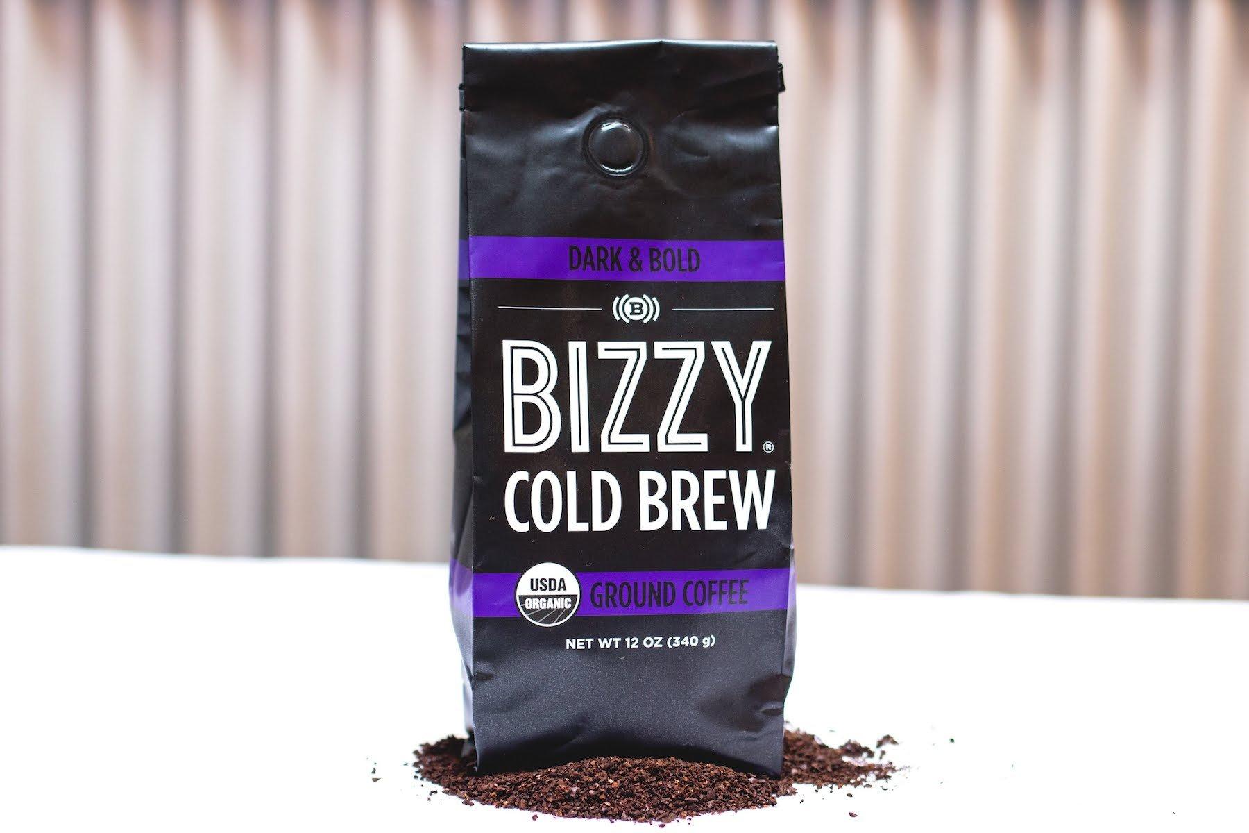 Bizzy Organic Cold Brew Coffee - Dark & Bold Blend - Coarse Ground Coffee - 12 oz by Bizzy (Image #6)