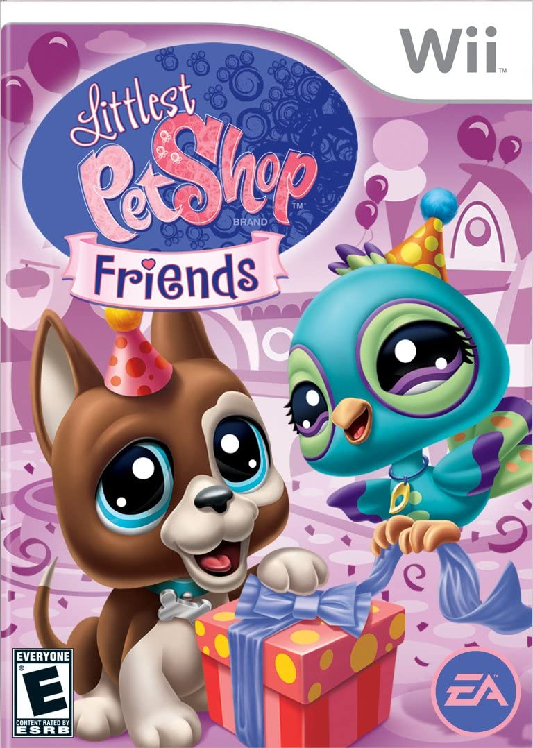 Uncategorized Littlest Pet Shop Pictures amazon com littlest pet shop toys games friends nintendo wii