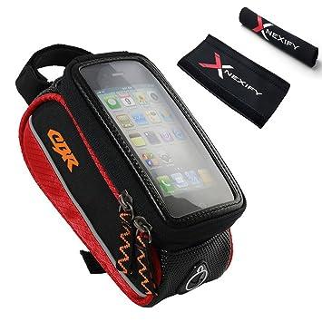 Nexify Cesto (Bolsa) para el Cuadro de la Bicicleta con Protector ...