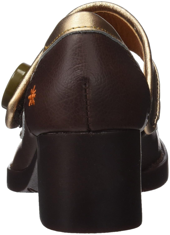 Art 0089 Memphis Bristol Scarpe col Tacco Punta Chiusa Donna