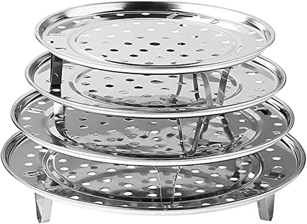 Steaming Rack Household Stainless Steel Cooking Ware Thickened Steaming Rack Stand 9