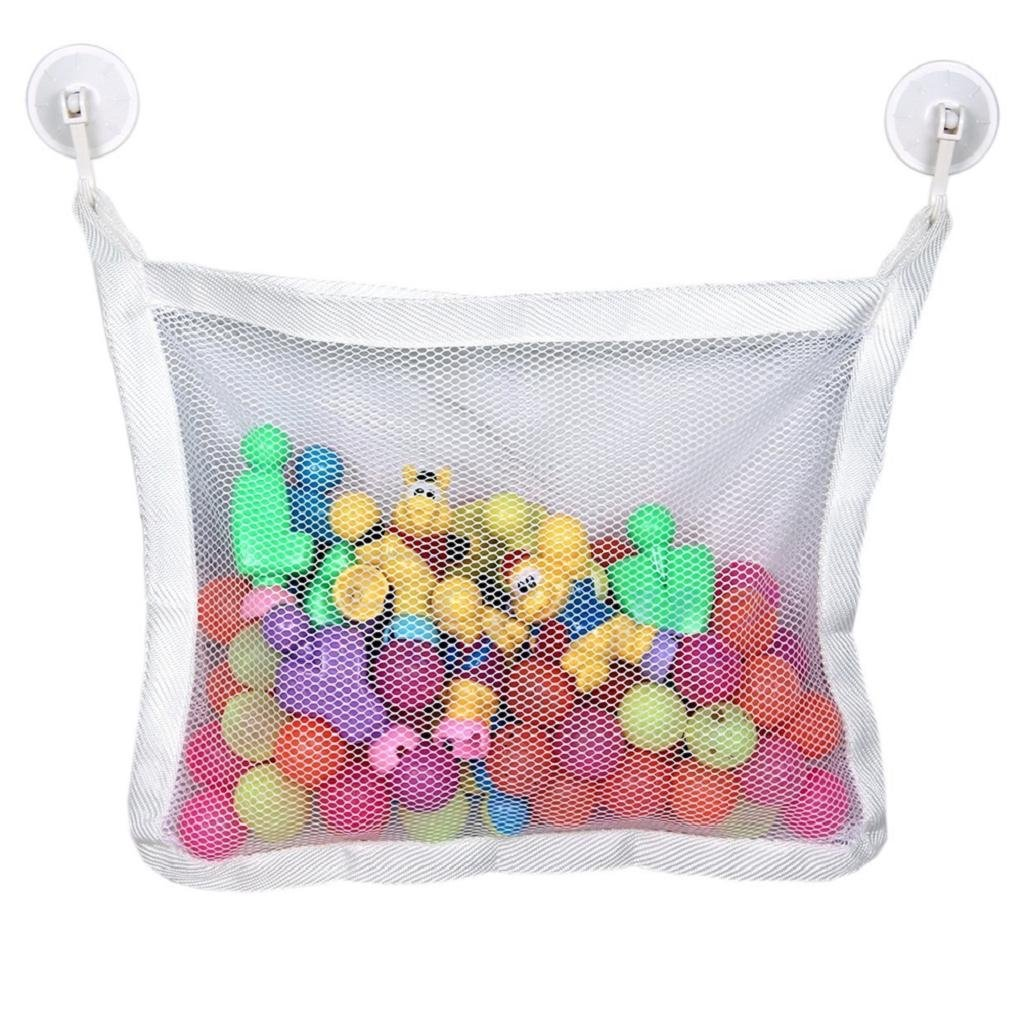 Misright Baby Bath Time Cute Toy Tidy Storage Suction Cup Bag Mesh ...