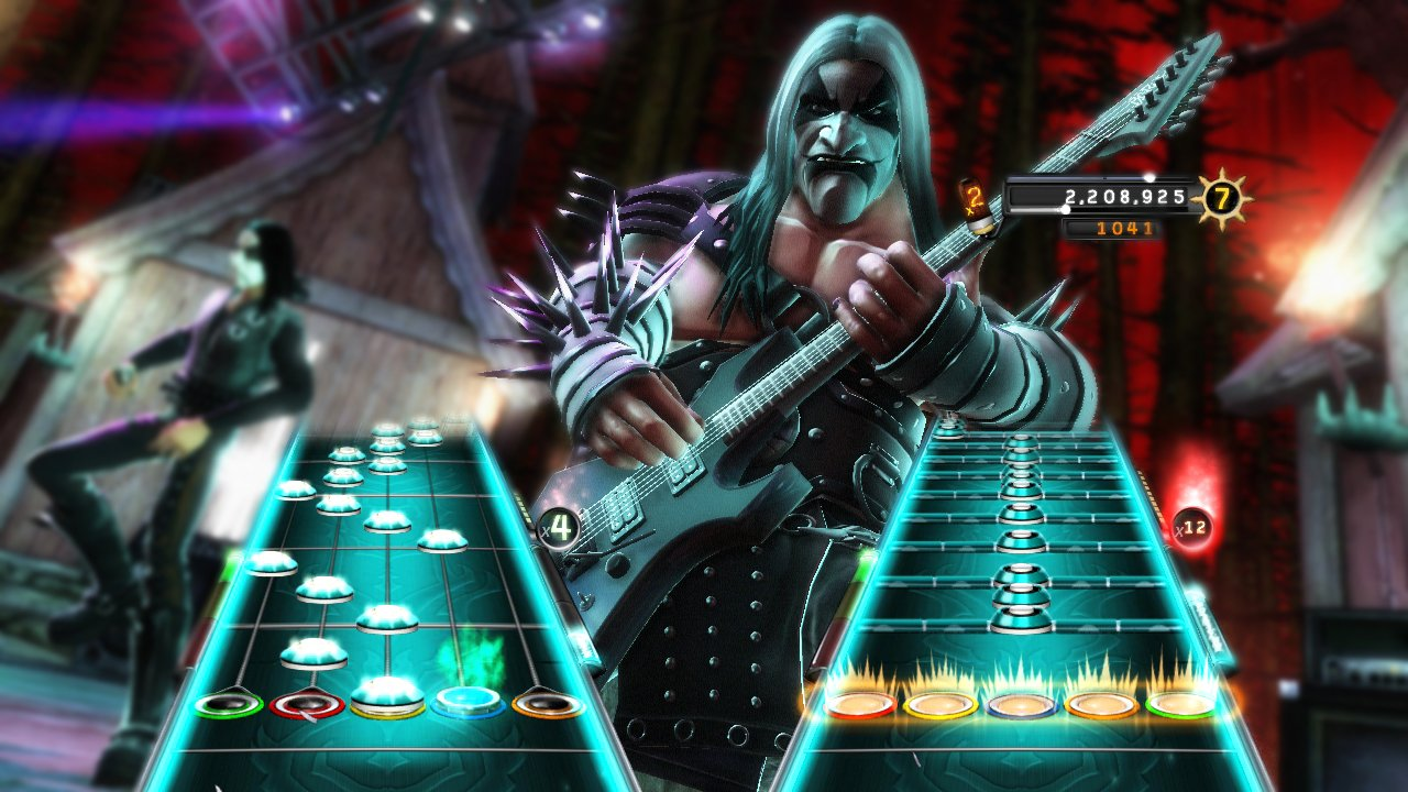 Guitar Hero: Warriors of Rock Stand-Alone Software - Nintendo Wii by Activision (Image #2)