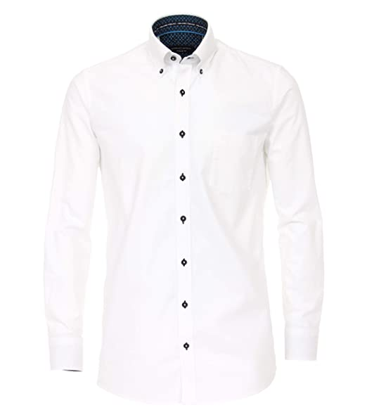 Casa Moda - Comfort Fit - Oxford Langarm Uni mit Button Down-Kragen  (483017000 9f66299dca