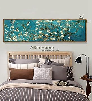 ABm Wand-Plakat, schöne Wand-Kunst, große gerahmte Leinwand ...