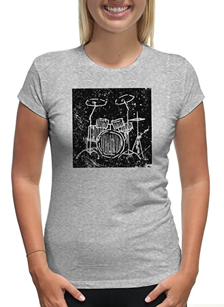 Image Unavailable. Image not available for. Color  Young Motto Women s  Vintage Drum Set ... 6dadfbba4