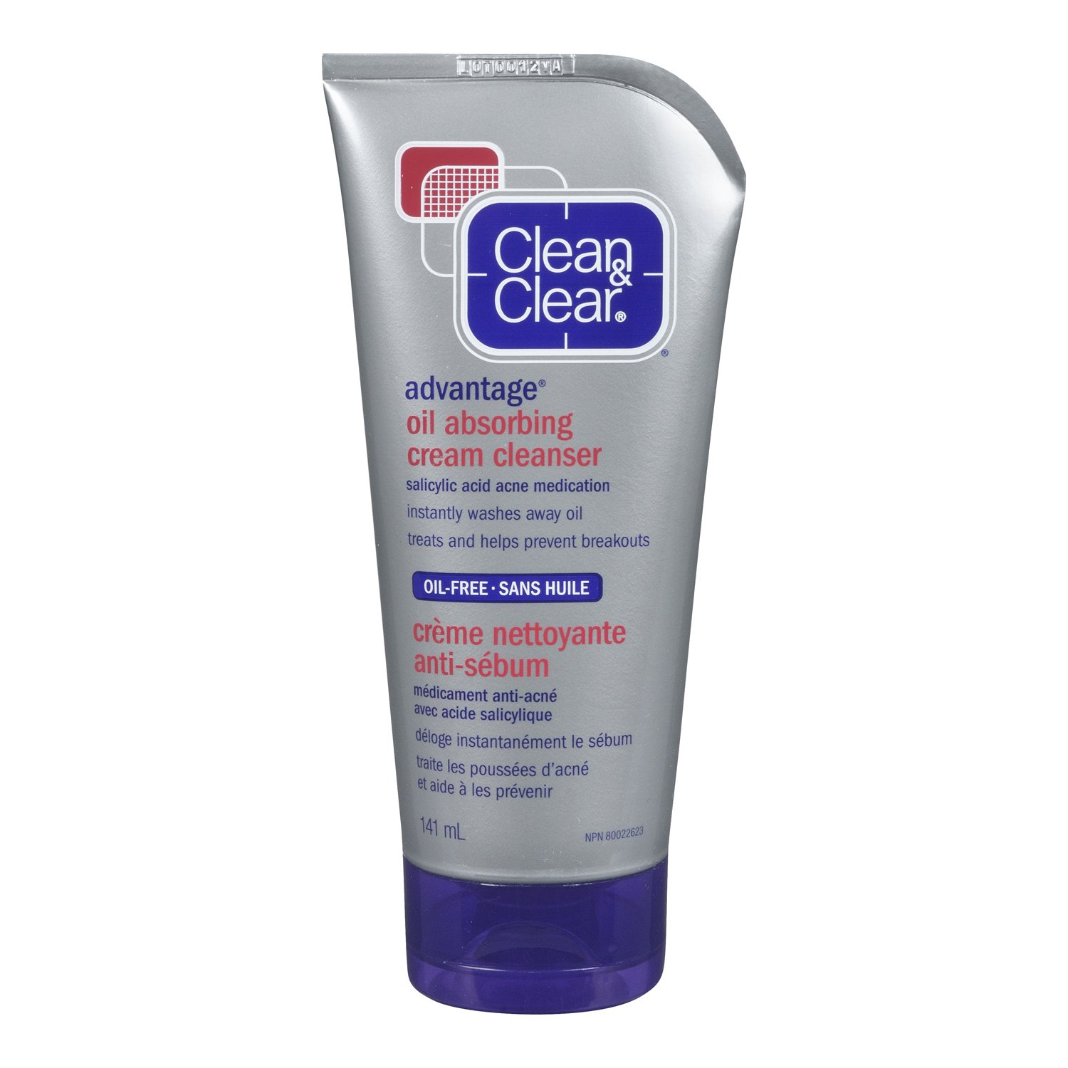 Clean   Clear Advantage Oil Absorbing Cream Cleanser, 141ml  Amazon.ca   Beauty bc5be09b616
