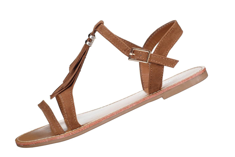 055c11e5c6a3a6 Lily shoes - Sandales Femme L322 Camel: Amazon.fr: Chaussures et Sacs
