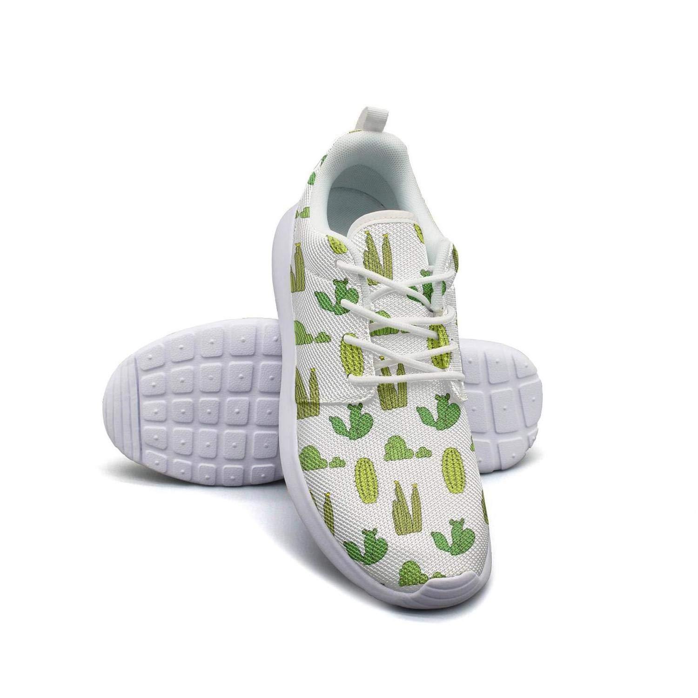 YSLC Cactus Pot Plants Running Shoes Lightweight Men Sneaker Lace-up Comfort Shoes