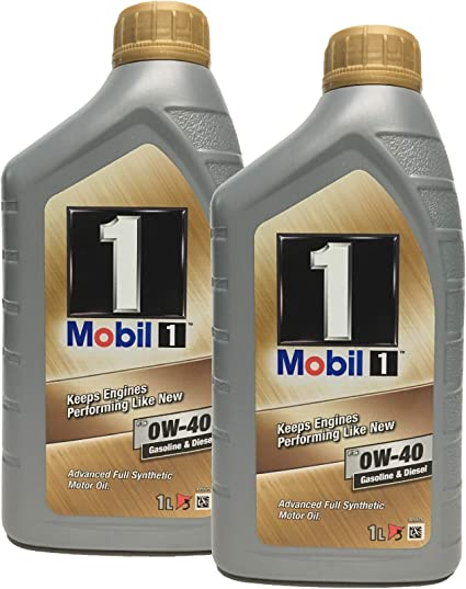 Aceite Trisintetico Motor - Mobil 1 fs 0W-40, pack 2 litros ...