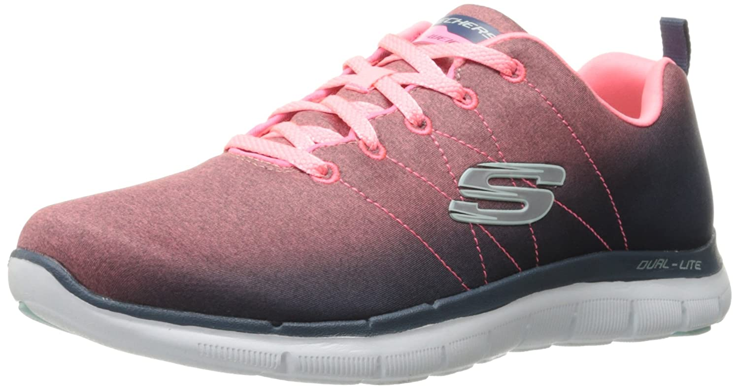 Skechers Damen Flex Appeal 2.0 Sneakers  38.5 EU|Grau (Cccl)