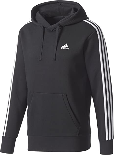 adidas Essential Hoodie 3 Bandes pour Homme