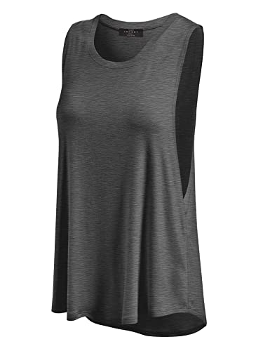 MBJ Womens Basic Wide Armhole Loose Fit Tank Top - Made in USA
