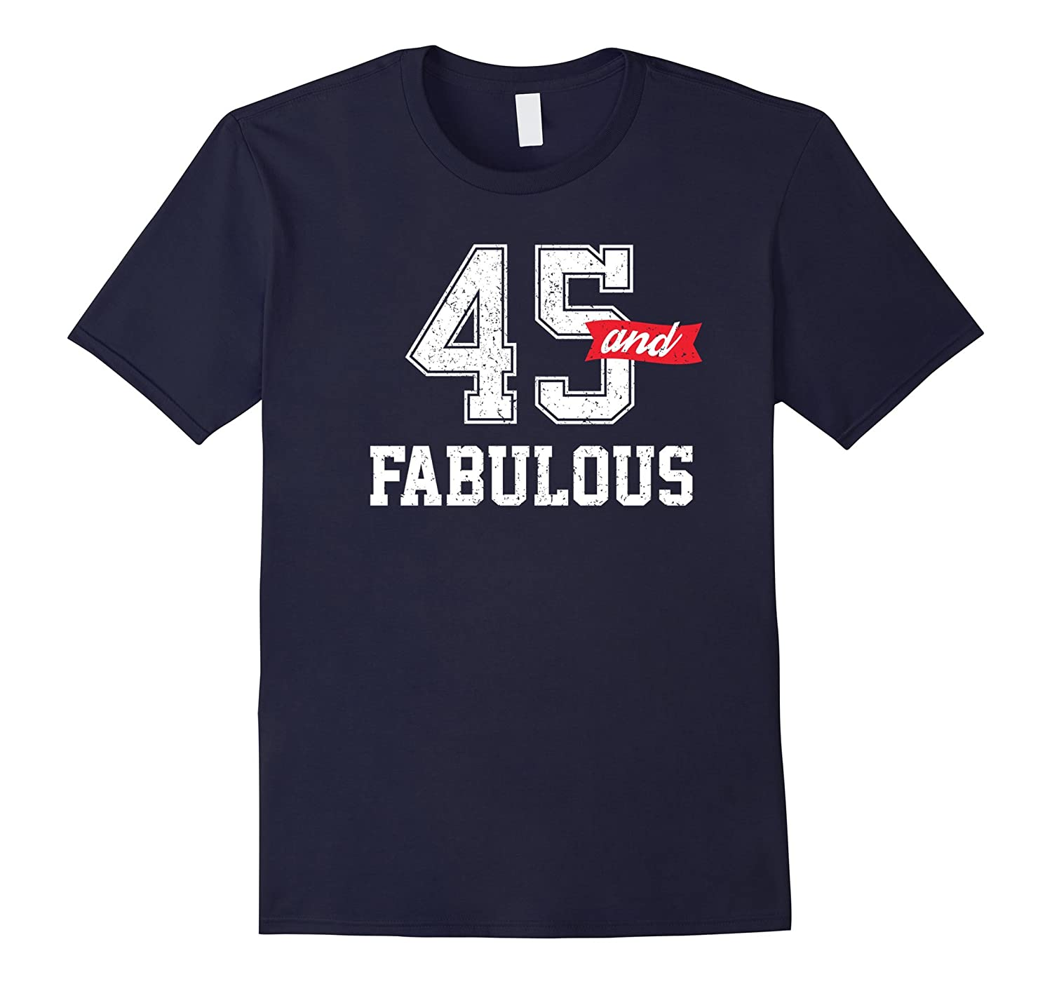45 and Fabulous Sports Fans Birthday Gift-Vaci