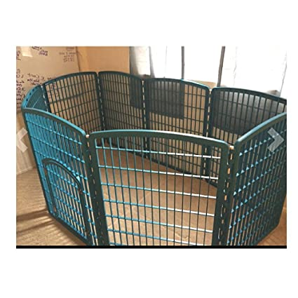 Amazon Large Dog Pen Breed Exercise Door Pet Portable 8 Panels