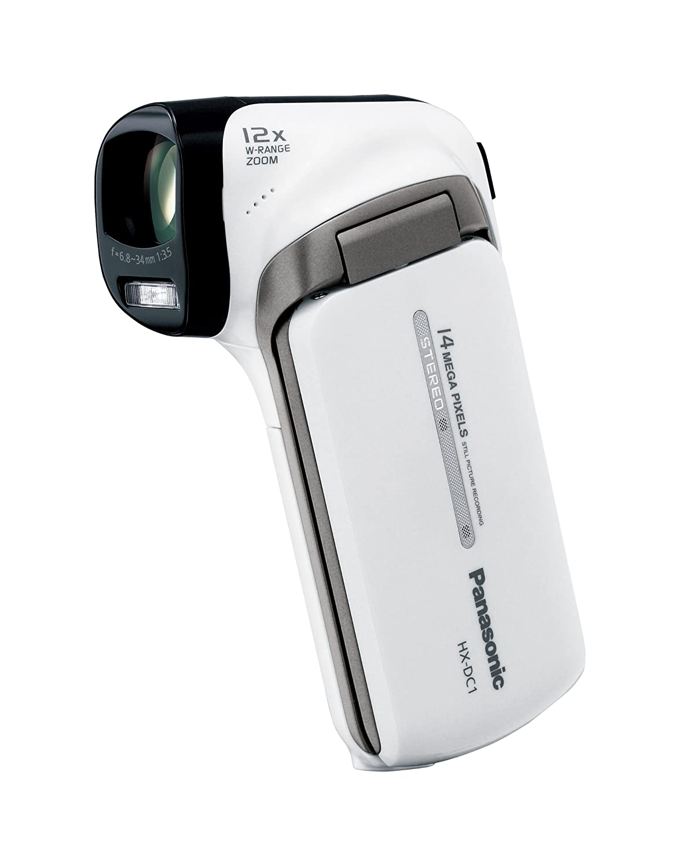 パナソニック デジタルムービーカメラ HX-DC1 クールホワイト HX-DC1-W  クールホワイト B0053DW0FW