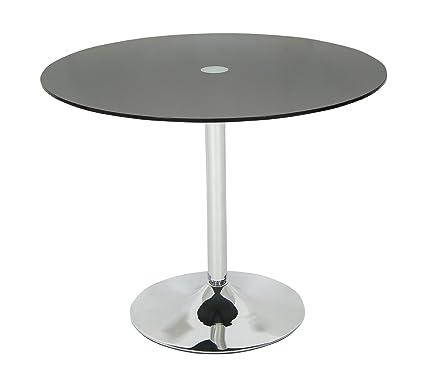 Home & Kitchen Furniture Levv Glass Bar Table