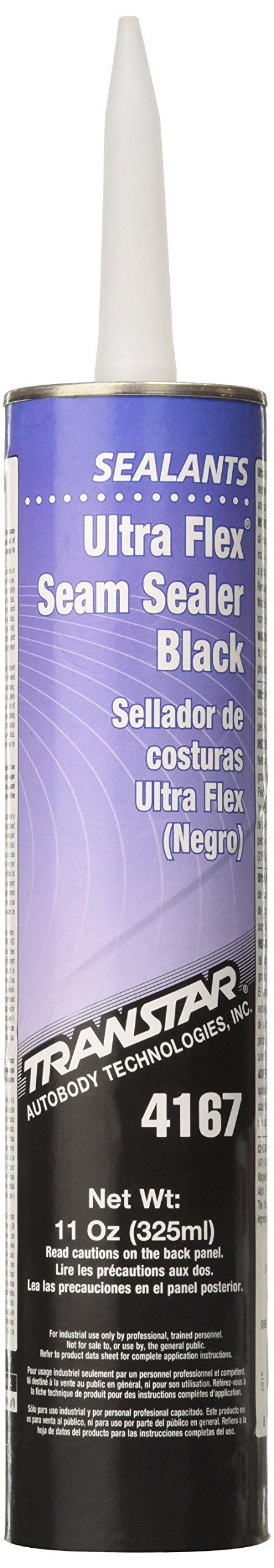 Transtar 4167 Ultra Flex Black Seam Sealer - 11 oz.