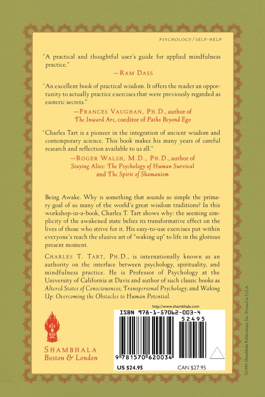 Living The Mindful Life: Charles T Tart: 9781570620034: Amazon: Books