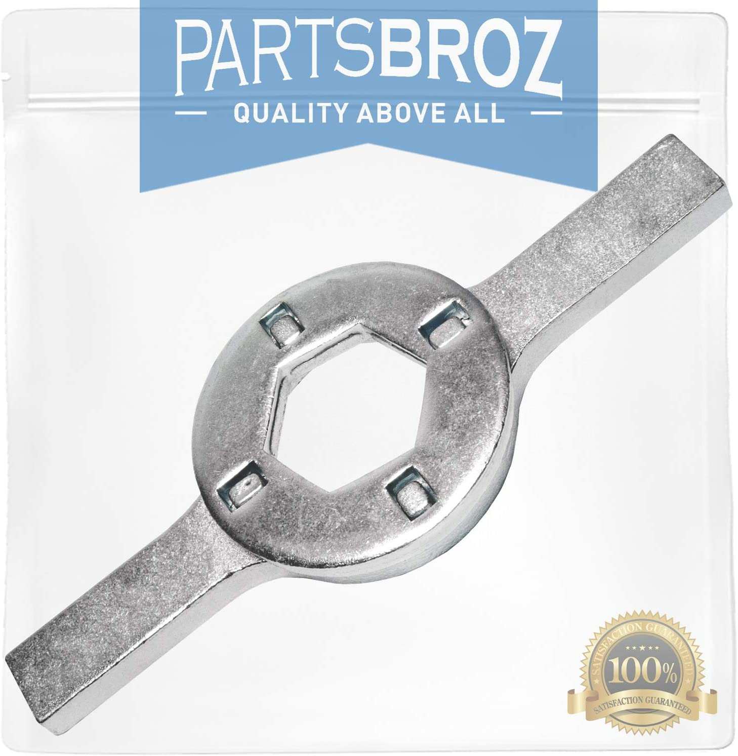 TB123A Spanner Wrench by PartsBroz - Compatible with Maytag Washing Machines - Replaces TB123B, AP6832671, TJ90TB123A, 12393, 123931, 41-123, ERTB123A, OVR23A & TB123