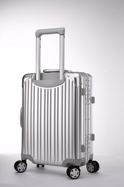Black Valise en Aluminium Bagage /à Main Taille 20 Durable avec Serrure approuv/ée par la TSA /à Disque de Roulette /à 360 degr/és /…