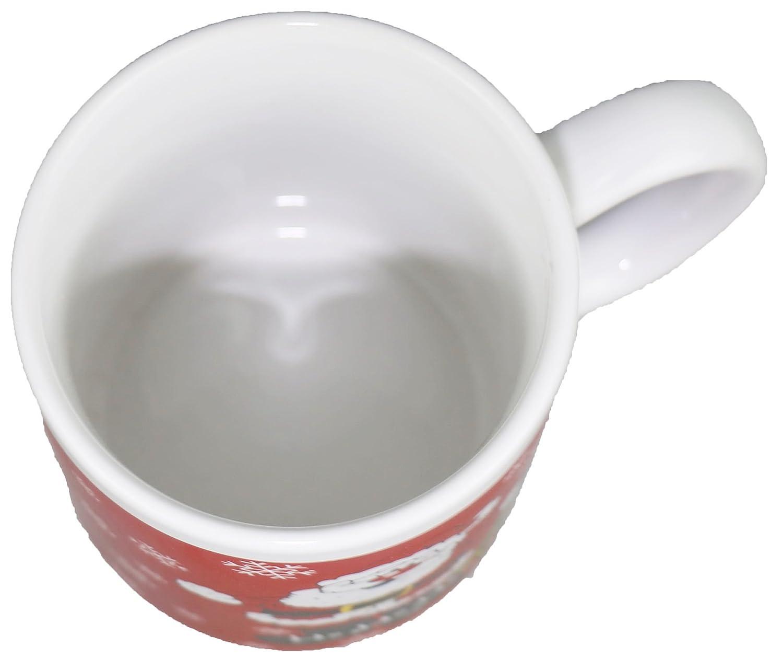 amazon com christmas mugs santa coffee mug kitchen u0026 dining