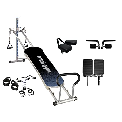 Amazon.com : total gym fusion exercise machine grey : sports & outdoors