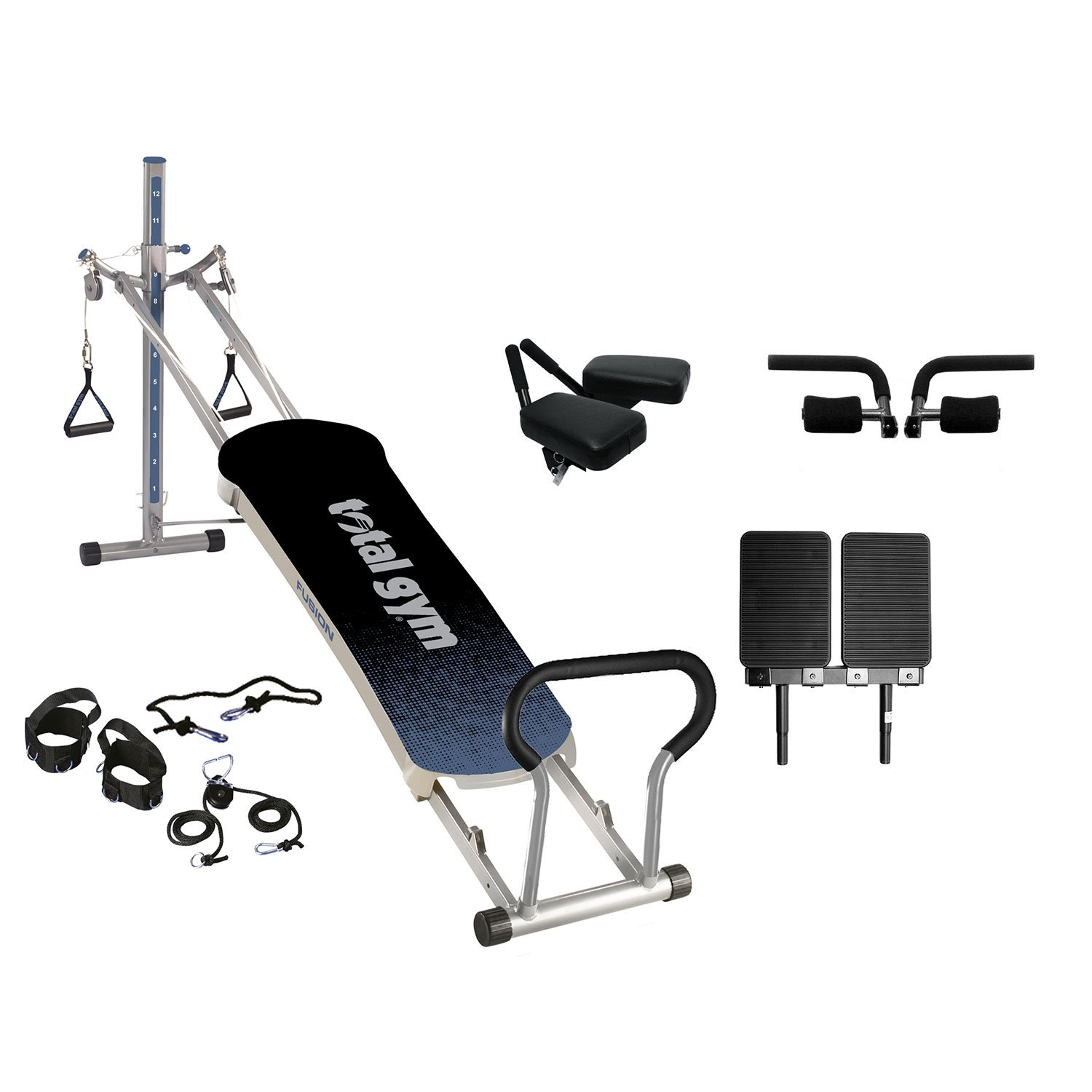 Total Gym Fusion Exercise Machine, Grey by Total Gym (Image #1)