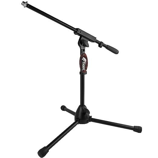 5 opinioni per Tiger MCA49-BK- Treppiede per microfono con giraffa