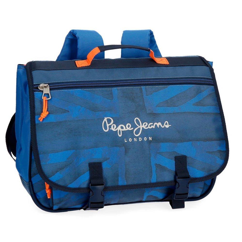 Schultasche Schultasche Schultasche Pepe Jeans Fabio Blau 13cd43
